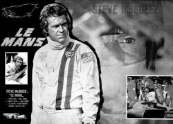 affiche LE MANS - Steve Mc Queen