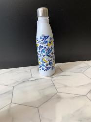 Bouteille isotherme fleur bleue 50cl