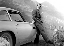 James Bond-Sean Connery-DB5