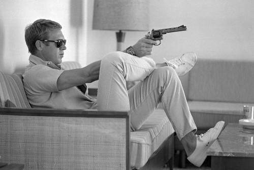 Steve Mc Queen revolver