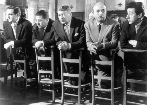 Les Tontons Flingueurs les chaises